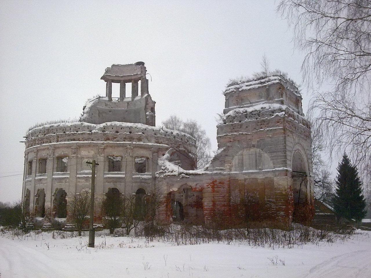 Храм Покрова Пресвятой Богородицы в Черепово