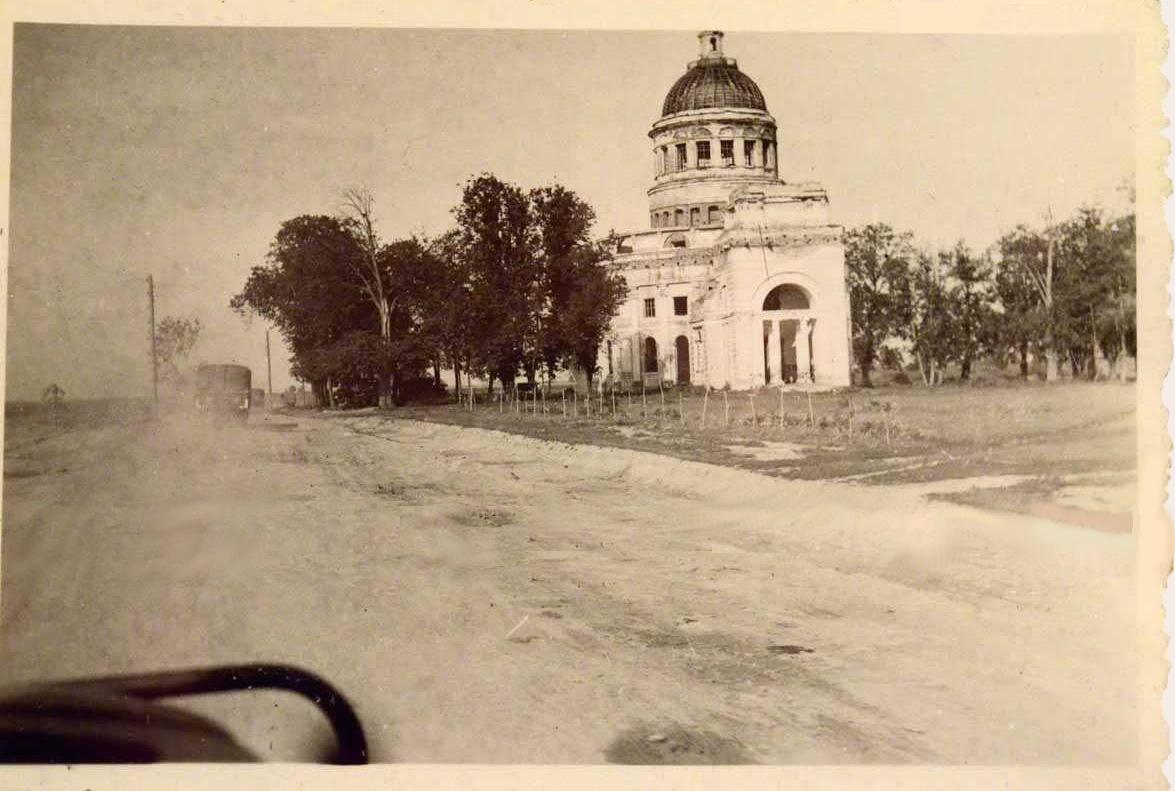 Храм Покрова Пресвятой Богородицы в Черепово. 1942г.