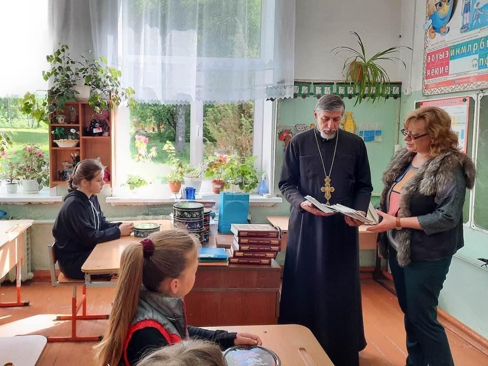 День славянской письменности и культуры в школе в деревне Черепово